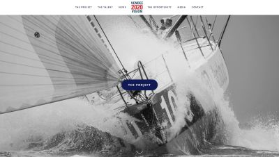 Vendee 2020 website