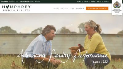 Humphrey Feeds & Pullets website