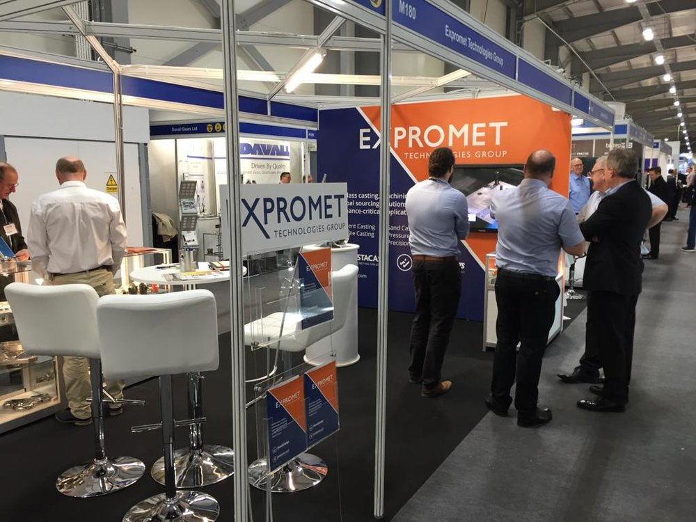Southern Manufacturing Show Stand M180