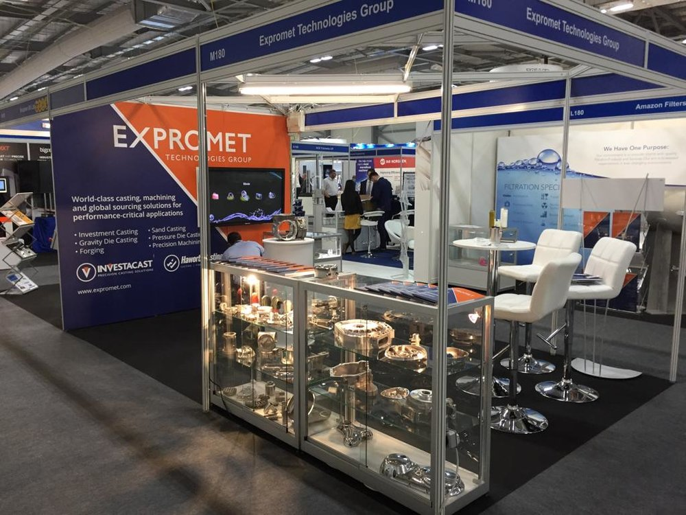 Southern Manufacturing Show exhibition for our client
