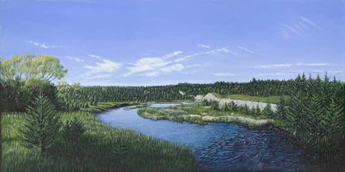 Plum Creek Near Meadville