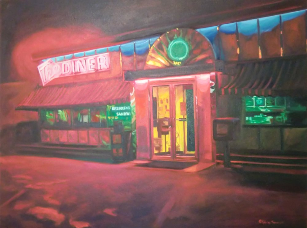 The Diner At Night