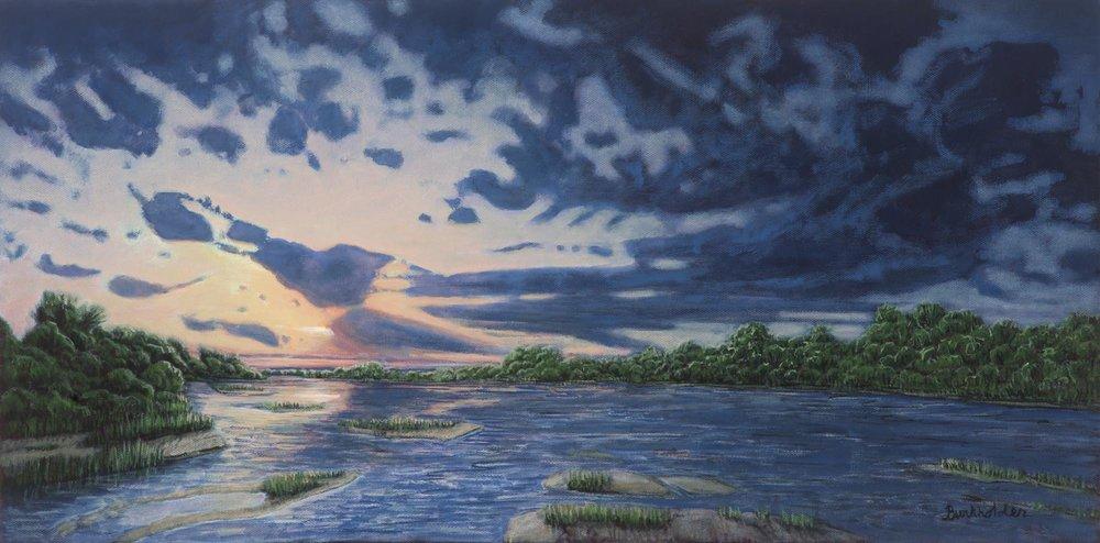 Platte River, West of Grand Island