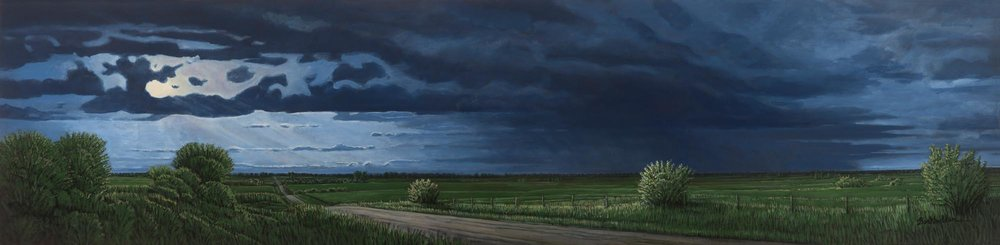 Stormy Day West of Wilber (the Day of the Eclipse)