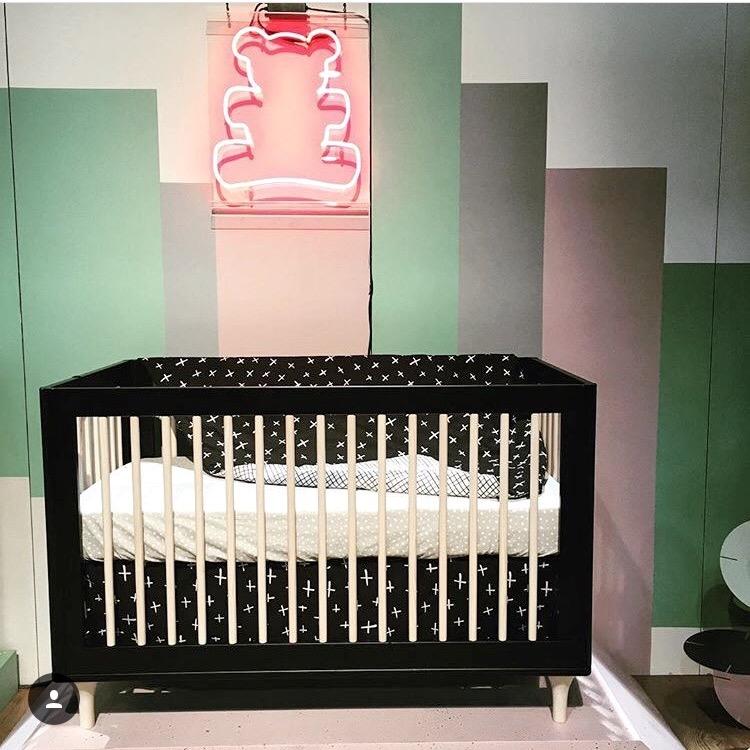 Lolly Crib in Black
