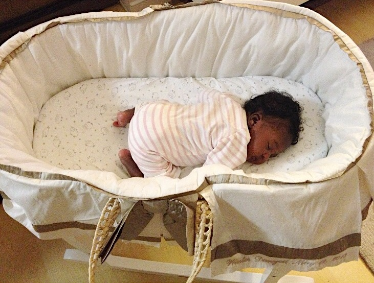 Lulla Smith Moses Basket