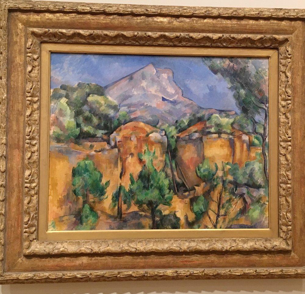 Cezanne- Mont Sainte-Victoire