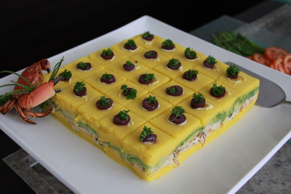 OUR FAVORITE ETHNIC FOODS: PERUVIAN CAUSA RELLENA via Swirl Nation Blog