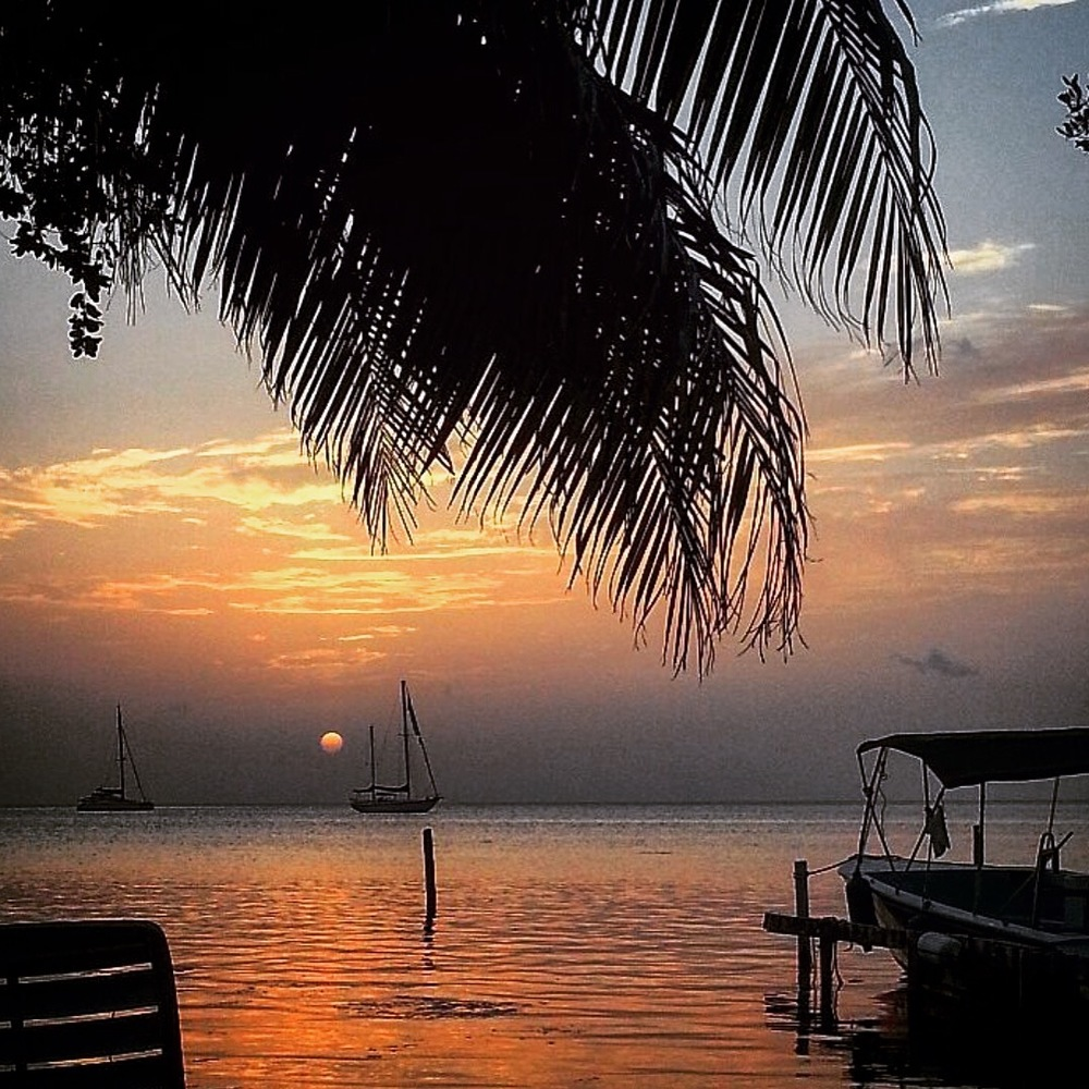 Caye Caulker Belize Sunset