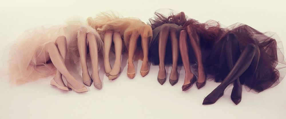 Christian Louboutin Pointy Flats For All Skin Tones by Swirl Nation Blog