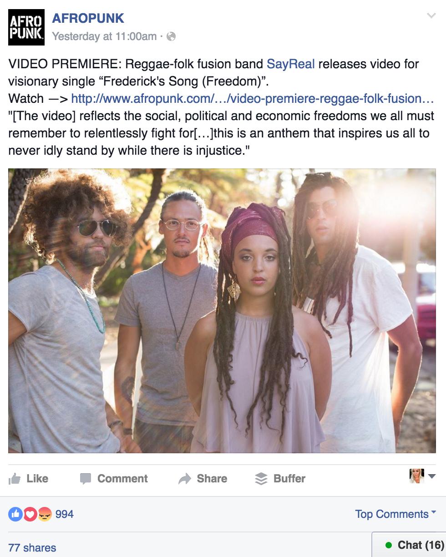 SAYREAL FREEDOM SONG via Swirl Nation Blog