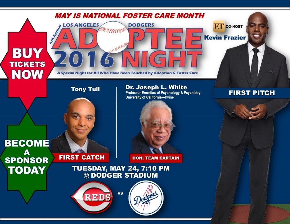 MIXED ROOTS FOUNDATION 'ADOPTEE NIGHT' WITH THE LA DODGERS via Swirl Nation Blog