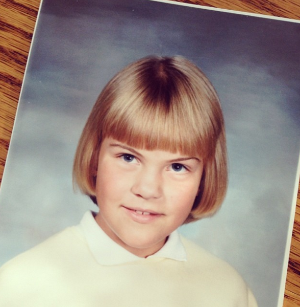 "Yup just call me ""Becky with the good brows."" - my bowl cut/bob hybrid on the other hand..."