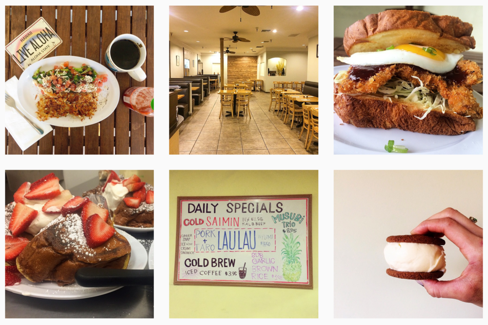 SWIRL KITCHEN: ALOHA CAFE, DOWNTOWN LOS ANGELES via Swirl Nation Blog
