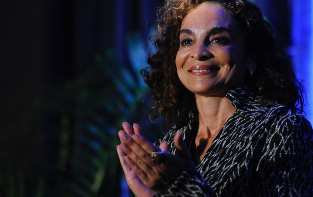 Jasmine Guy. The actress was born to a Portuguese mother and black father.