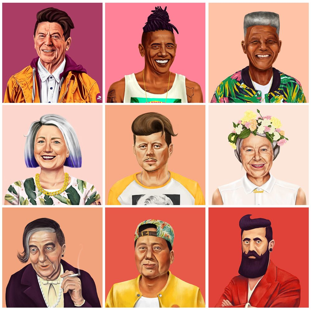 AMIT SHIMONI'S 'HIPSTORY' via Swirl Nation Blog