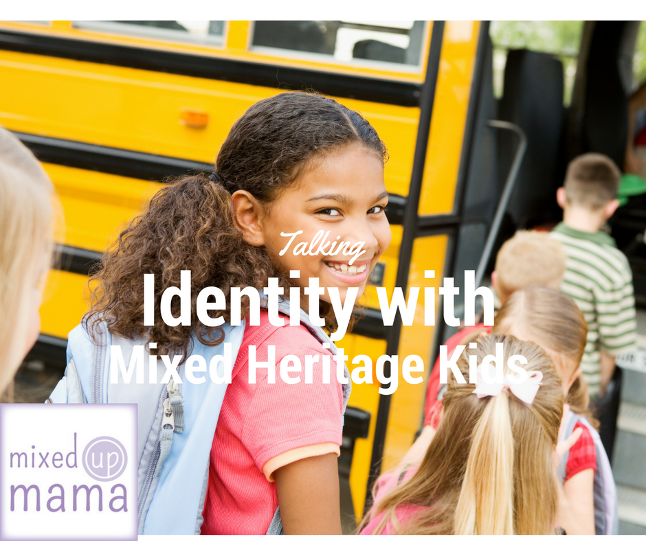 Talking Identity with our Mixed Heritage Kids via Swirl Nation Blog