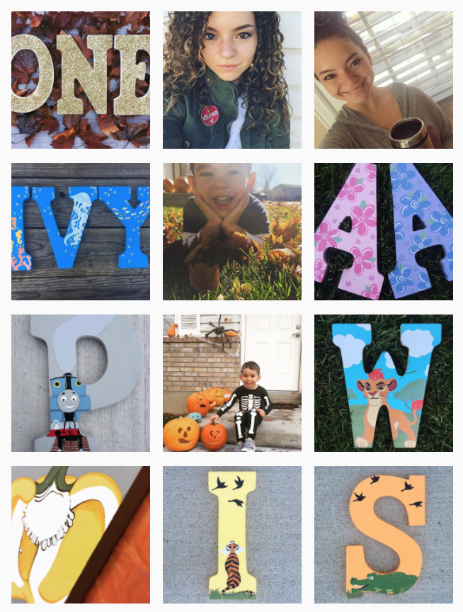 LEO'S LETTERS: CUSTOM PAINTED LETTERS FOR KID'S ROOMS AND NURSERIES via Swirl Nation Blog