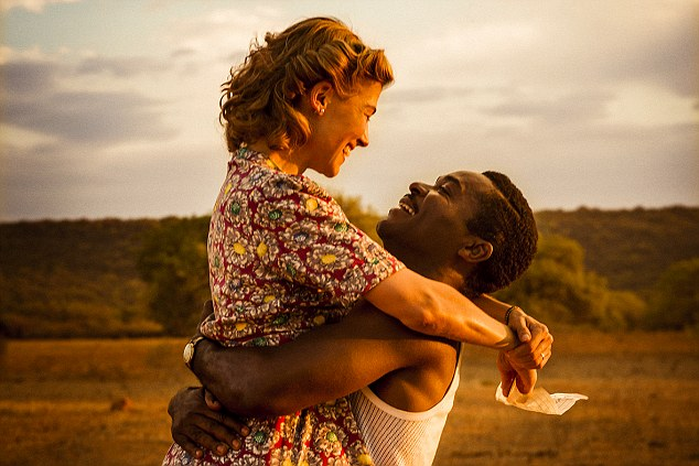 David Oyelowo and Rosamund Pike are portraying the pair on screen