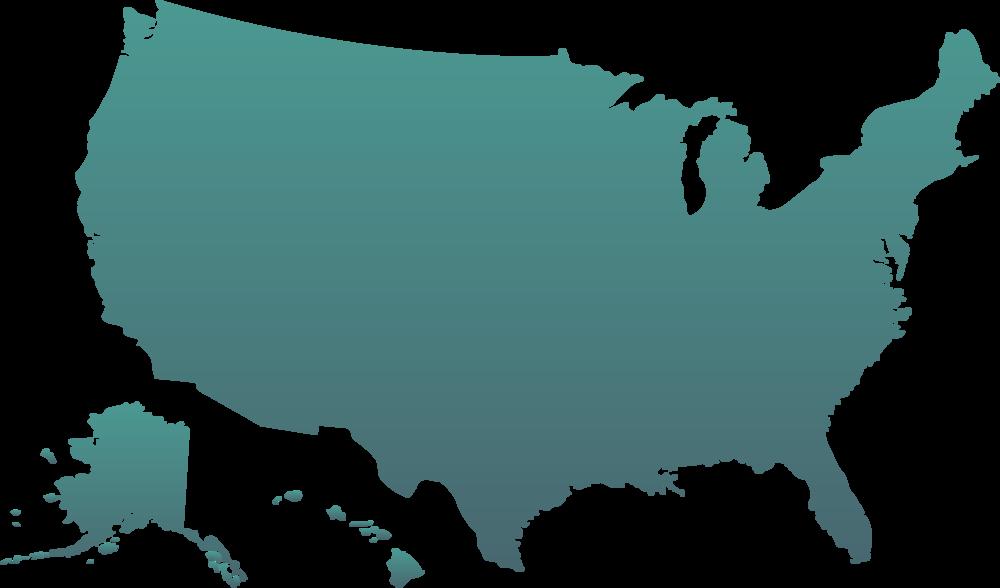USA map @MeldrumDesign