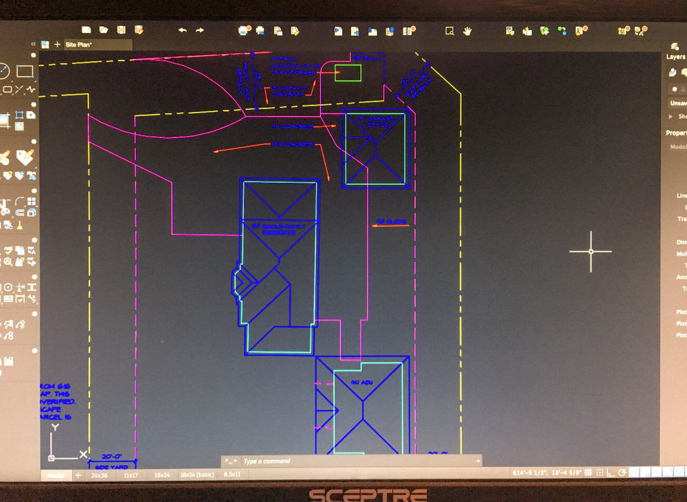 "Please excuse the ""screen shot"" 🤣 I'm just so excited! Recently started my first project in Washington state. 🌲 The contractor brought me on board... we're helping this client with their new detached ADU (accessory dwelling unit) and Garage/ Office. 🏘 Fun!  It's true, I offer services for projects ALLLL over the country. 🇺🇸 If you need more space for grandma or you need to move the office to the backyard, let me know. I'm happy to offer a free initial consult to get you on the right track.  http://bit.ly/2CC3cLB"