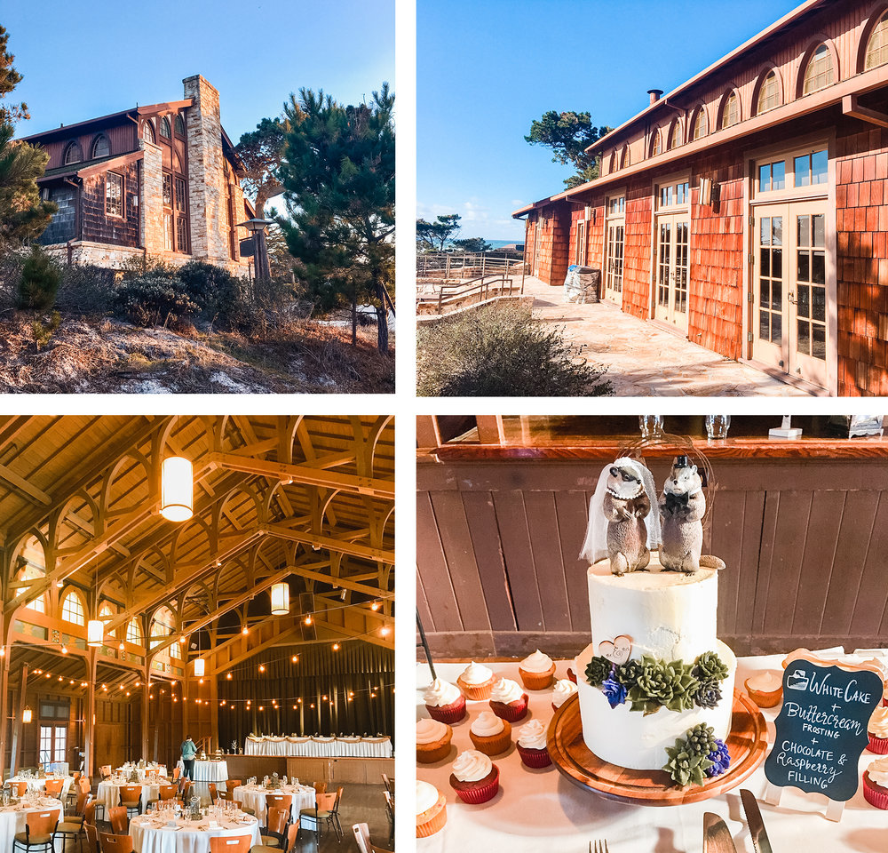 Back in November, my husband's cousin got married at Asilomar Conference Center in Monterey, CA. SO gorgeous. 😍 It was designed by Julia Morgan, the first female architect in California. 💗 Girl power! ✊🏻
