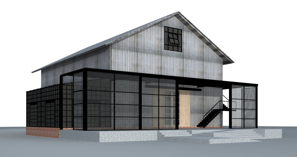 "Artist's Conception of ""The Barn"" — coming in late 2019"
