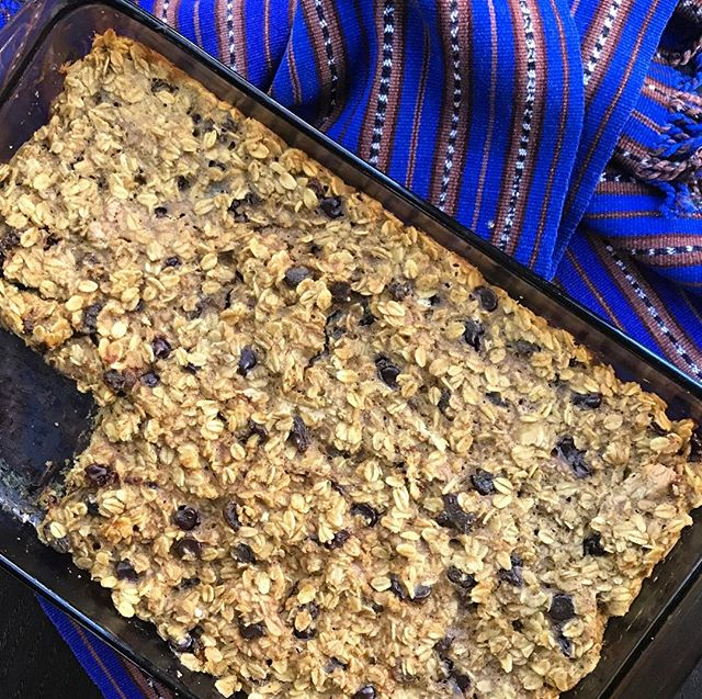 This #Oatmeal #Cinnamon #Raisin Bake is a byproduct of a major kitchen brain fart.  Learn what I did (not gonna lie...it was pretty stupid...), plus how I managed to transform a little #kitchenoopsie into a delicious breakfast casserole!! #ontheblog #adaptadjustovercome #kitchenrecovery #recipe R&D #wholegrains #nosugaradded #healthyfats #healthyeats #healthyliving #nourish #realfood #wholefoods #oatmeal #rd #rdchat #wellseek #thriveon #biteforchange (link in profile)