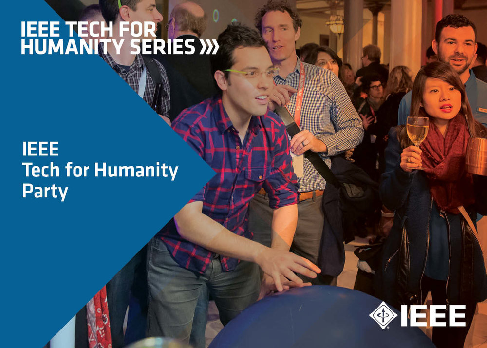 IEEE TECH FOR HUMANITY OFFICIAL PARTY at SXSW Interactive 2018