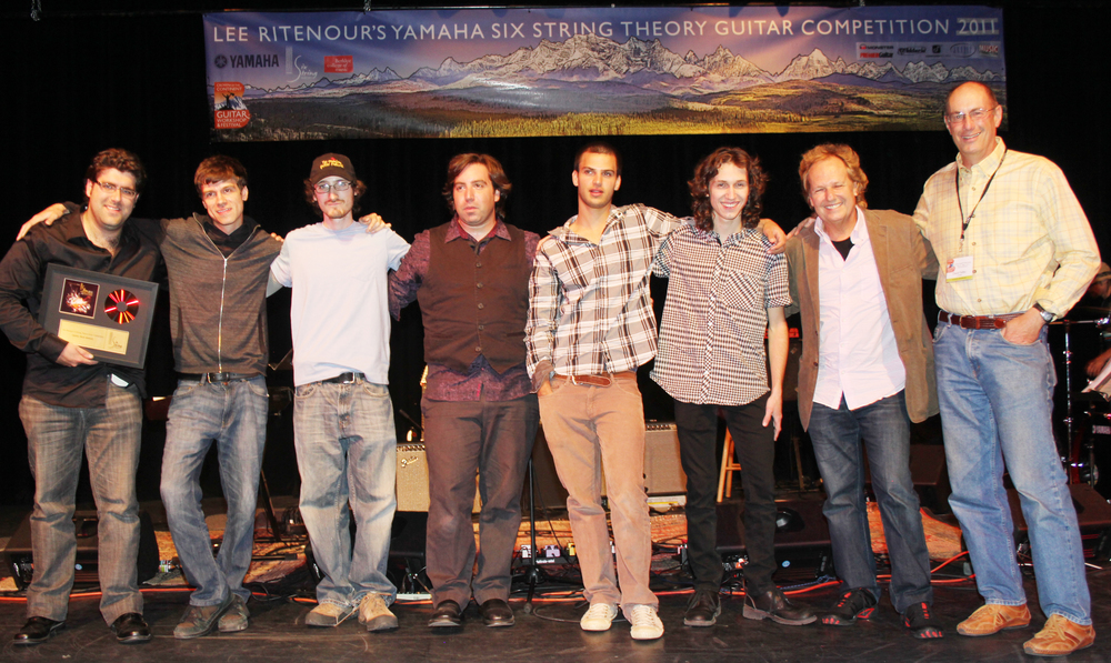 World finals for Lee Ritenour's Six String Theory competition- Montana- August 2012