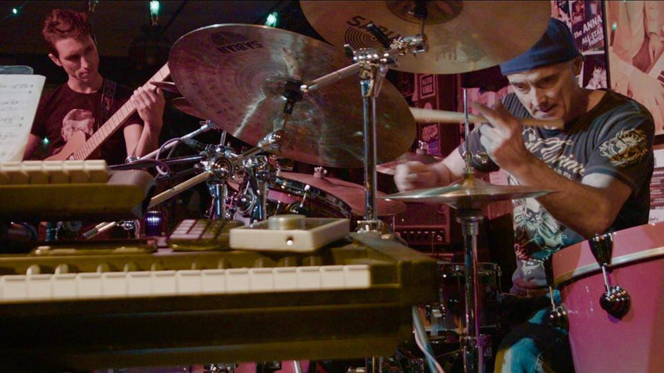 Playing with Virgil Donati at the Oct. 2017 Allan Holdsworth Memorial Shows