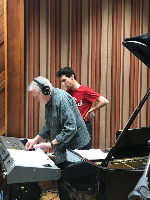 Working with Dave Grusin @ Sunset Sound- March, 2018