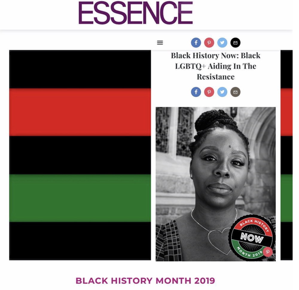 ESSENCE | Black History Now: Black LGBTQ+ Aiding In The Resistance - Black people for centuries have said if you want something done, you have to do it yourself. While many Black LGBTQ+voices continue to be targeted and silenced in popular queer spaces, some have made it their life's work to follow in the footsteps of those who have come before us.
