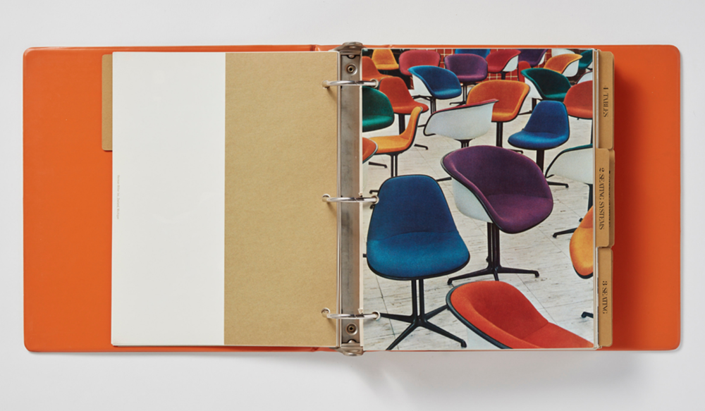 Tomoko Miho and George Nelson design for the 1964 Herman Miller catalog.