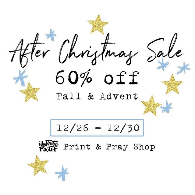 This is a good one!  Don't miss it 💛 . #illustratedfaith #illustratedfaithcommunity #printandpray #biblejournalingcommunity #journalingbiblecommunity #documentedfaith #faithjournaling #journaling #advent #100daysofgraceandgratitude #printables #digitals #downloads #printandprayshop #christmas #fall #sale #afterchristmassale