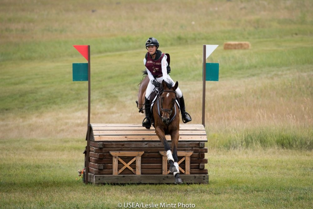 Mia Farley, 2016 Recipient of the Seema Sonnad Junior Rider's Grant