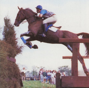 The great Wilton Fair with David O'Connor in the saddle winning the Rolex Kentucky Three-day Event in 1990.
