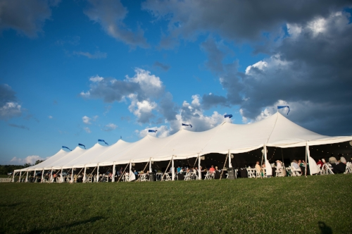 The VIP Tent at Great Meadow International (Photo - Great Meadow archive)