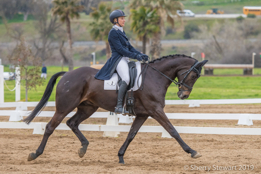 Chatwin Strides Out Boldly Ignoring the Wet California Weather