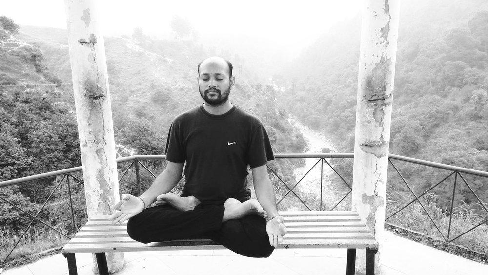 NAME  :Sarvottam Kumar  LOCATION  : British Columbia, Canada  SERVICES  :∆ Meditation ∆ Sound healing ∆ Ayurvedic Massage
