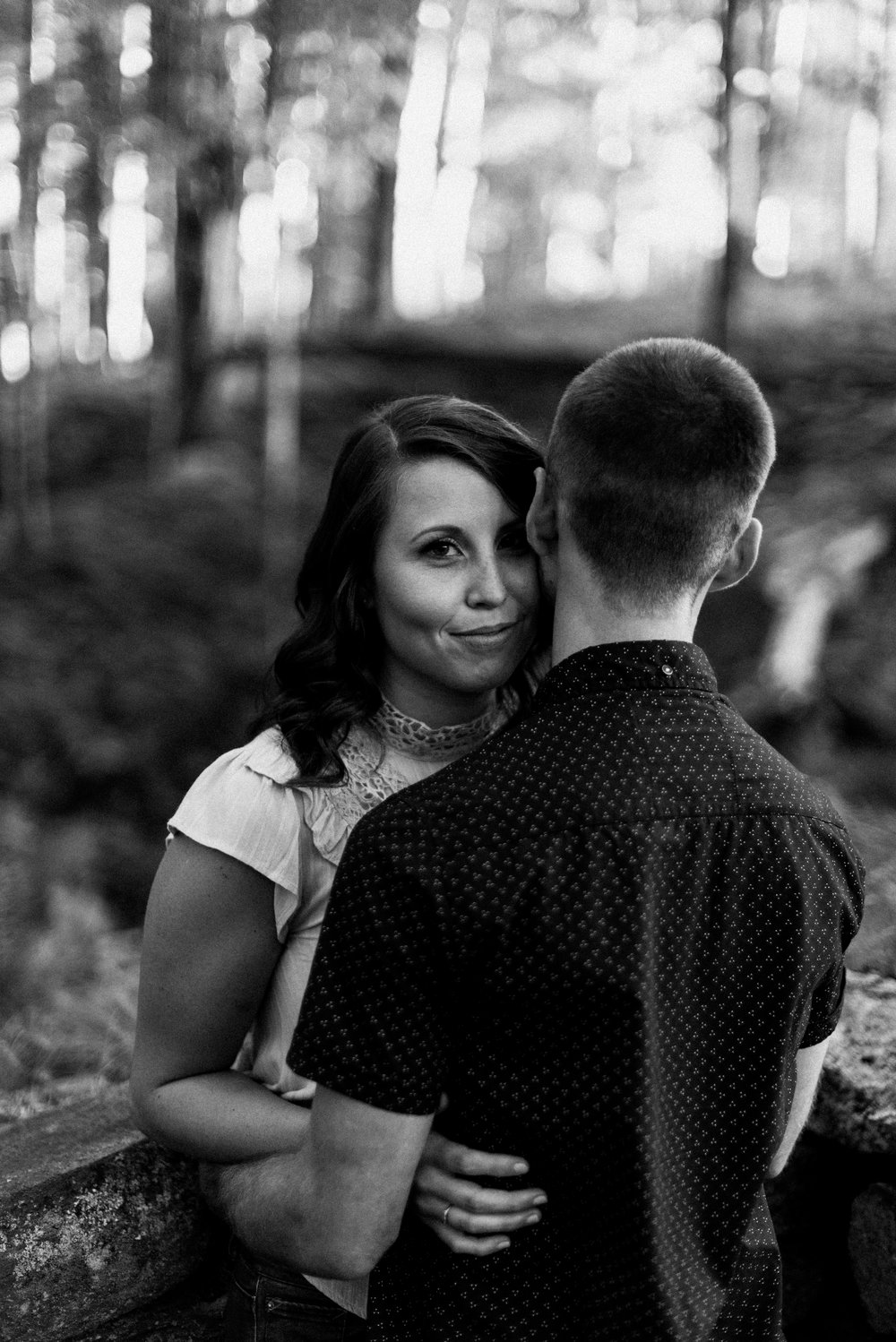 Amanda & Sean-Massachusetts-Forest Waterfront Engagement Session-Woodsy Outdoor Couples Session-Photographer-100.jpg
