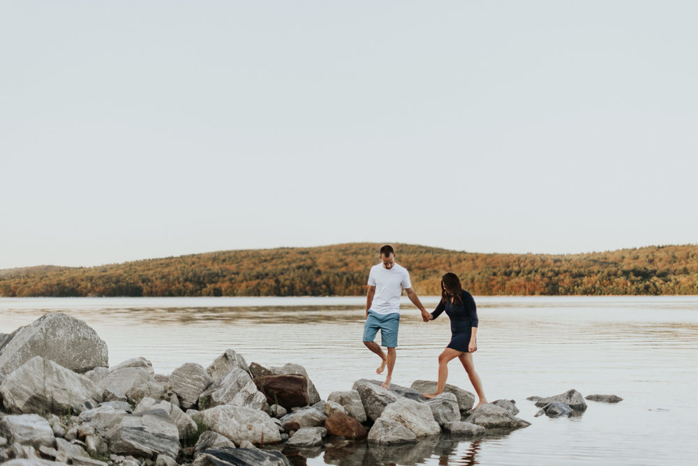 Amanda & Sean-Massachusetts-Forest Waterfront Engagement Session-Woodsy Outdoor Couples Session-Photographer-388.jpg