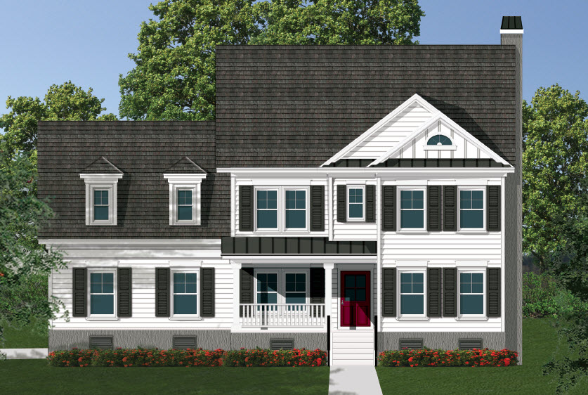 Plan Name or #: The Port Royal Bed: 4 Baths: 3.5 Sq.Ft.: 3,021 Garage: 2 Car Garage