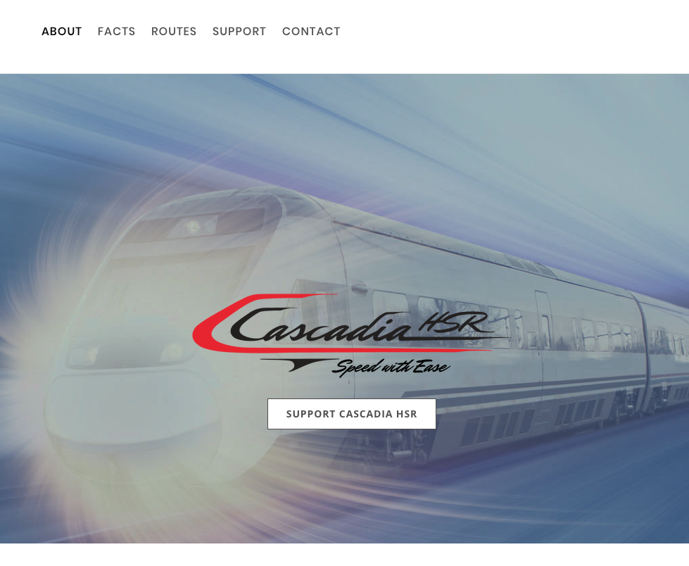 CASCADIA HIGH SPEED RAIL   PROJECT MANAGEMENT