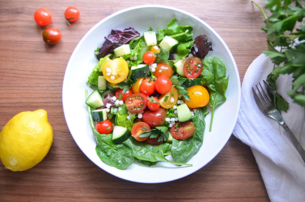 summer tomato salad -