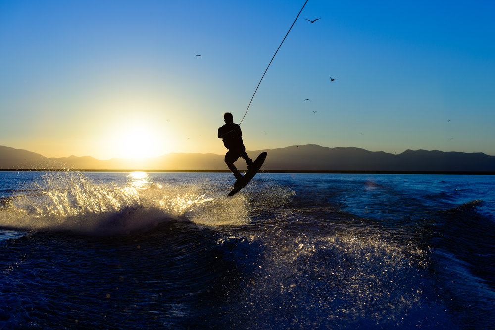 wakeboarding on a malibu wakesetter in Cabo.jpg