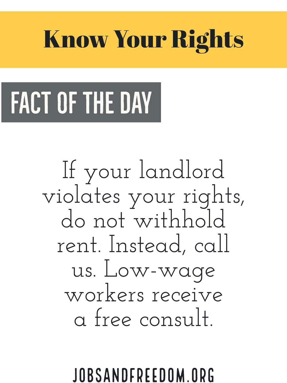 my landlord refuses to fix the heat, can i withhold rent? If your landlord violates your rights, do not withhold rent. Instead,call us. Low-wage workers may call us for free consult.
