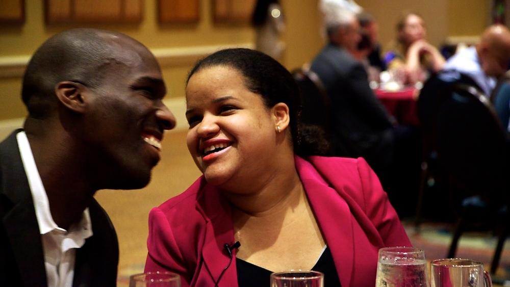 Romeo and Nef Flirting at NFB Banquet (1).jpg