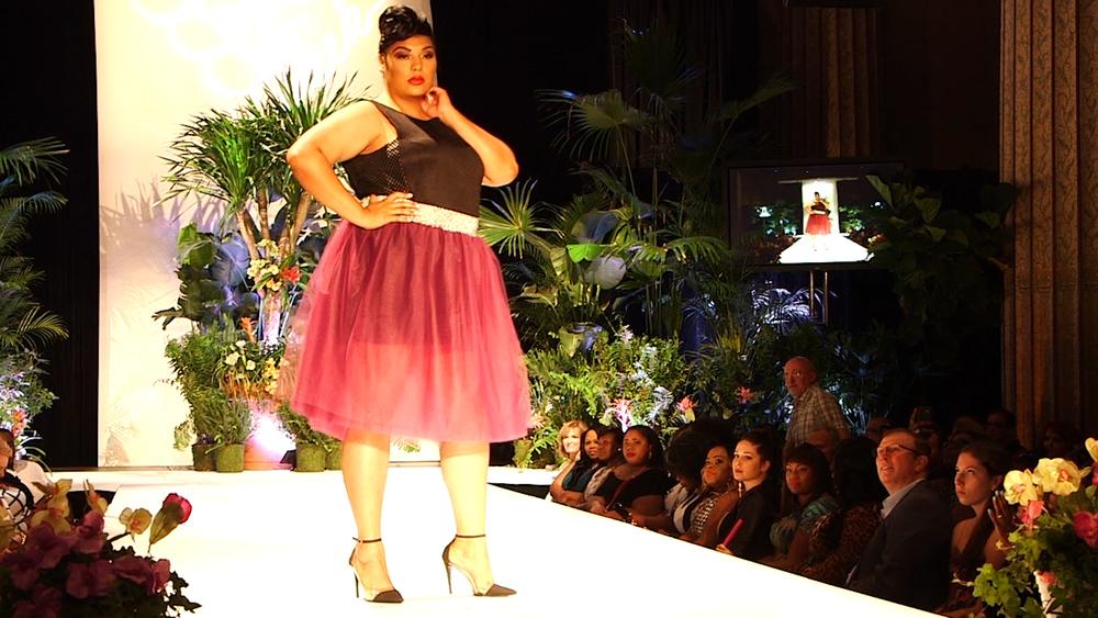 Model in Hannah's tulle skirt.jpg