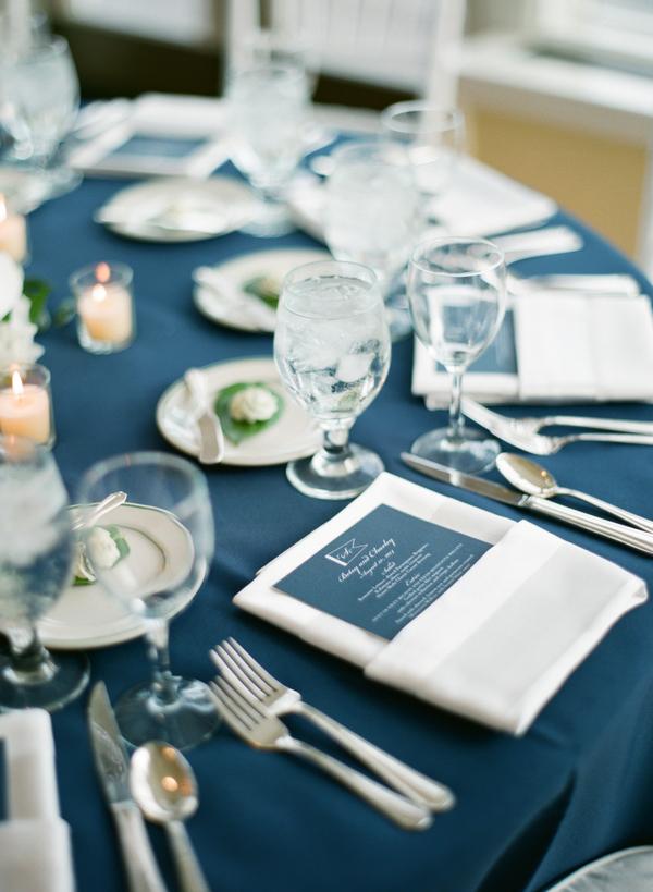 Nautical Wedding Menu